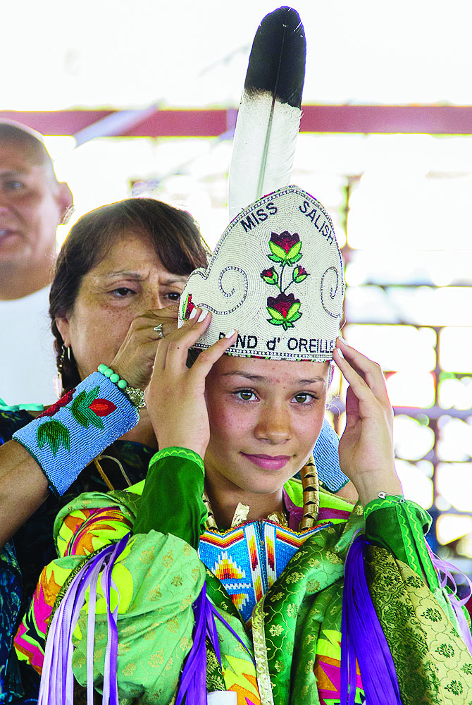 Miss Salish Pend d' Oreille 2015