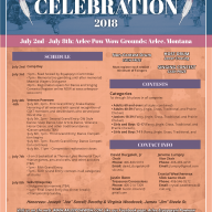 2018 Arlee Celebration Flyer
