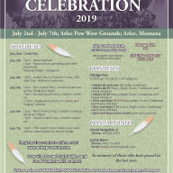 2019 Arlee Celebration Flier
